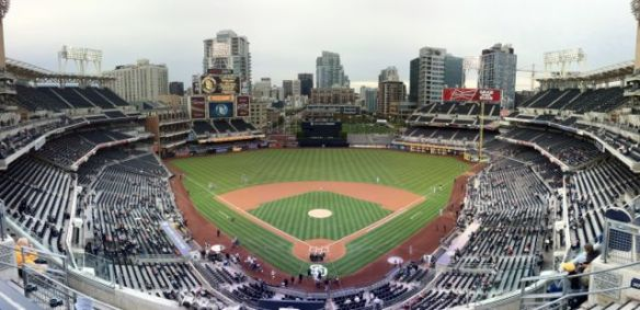 Petco upper deck panorama