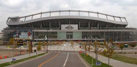 Sports Authority Field (formerly Invesco) at Mile High, photo by Matthew Trump