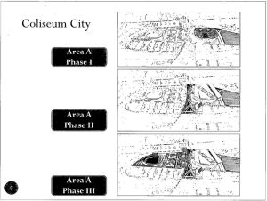 View of Coliseum City development phases