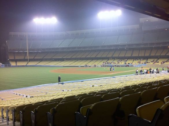 Could Dodger Stadium be a temporary NFL home? The NFL isn't dismissing the idea.
