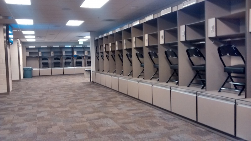 Raiders Facility And Locker Room Tour
