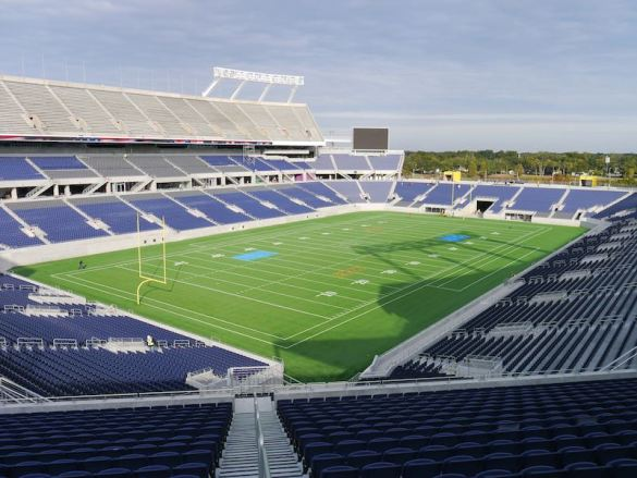Citrus Bowl as of mid-December
