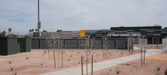 A's training facility at Fitch Park