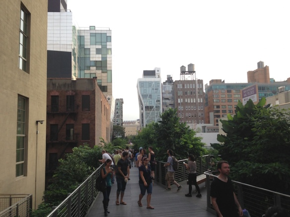 The High Line in Manhattan