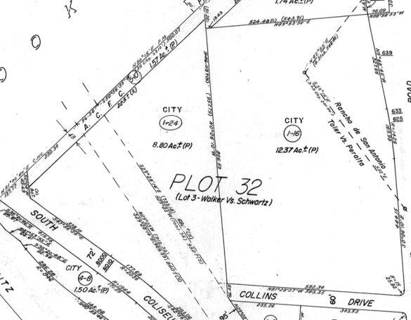 Current assessor's map