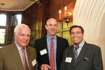 The tenure of Lew Wolff (left) has come to an end, John Fisher (center) will replace him